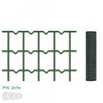 Žogs metināts 75x100 mm, 1.0x25 m, RAL6005