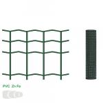 Žogs metināts 50x100/2.5 mm, 1.2x25 m, RAL6005