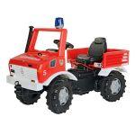 Pedāļu ugunsdzesēju mašīna Rolly Kid Fire Brigade Unimog 036639