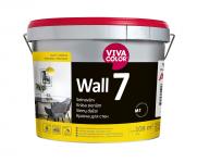 Krāsa sienām VIivacolor Wall 7 A-bāze, matēta, 11.7L