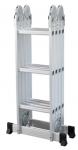 Multifunkcionālas kāpnes HAVEK 4.73m, 4x4 pakāpieni