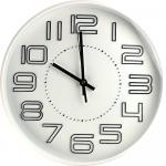 Sienas pulkstenis, balts 30cm