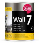 Krāsa sienām VIivacolor Wall 7 A, matēta, 0.9L