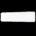 Tērauda paneļu sildītājs IB800L DN, 800 W, balts