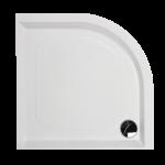 Dušas paliktnis PAA Classic RO, 900x900 mm, D500, ar paneli un regulējamām kājām.