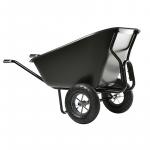 Ķerra Haemmerlin CARGO TWIN EXCELLIUM 300, plastmasas, 2 pneimatiski riteņi, 230L