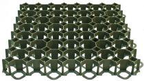 Zālāja režģis 49.2x49.2x3.9cm zaļš
