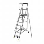 Kāpnes/ Pārvietojama darba platforma ERM 413608, 8 pakāpieni