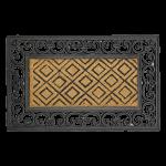 Kājslauķis kokosšķiedras ar gumiju 45x75 cm