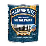 Metāla aizsargkrāsa Hammerite Hammered 0.75 L tumši zaļa