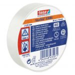 Izolācijas lente Tesa Professional 53988 Balta, 20 m/19 mm