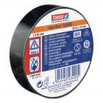 Izolācijas lente Tesa Professional 53988 Melna, 20 m/19 mm