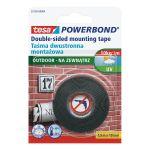 Divpusējā lente Tesa 55750 Powerbond OUTDOOR 1.5 m/19 mm