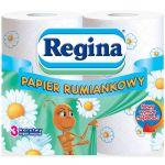 Tualetes papīrs 3-kārt. 4 ruļļi Regina