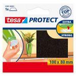 Filca aizsargpaliktnis Tesa 57891 Protect Brūns, 100 x 80 mm