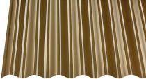 Profilētā PVC loksne SINUS 0.90x2.00m, bronza