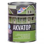 Krāsa koka fasādēm RILAK AKVATOP Pusmatēta A-Bāze 0.9L