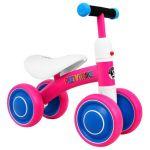Balansa velosipēds PETTY TRIKE RA4382, rozā
