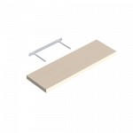 Plaukts Velano FS 80/24 DS, Bleached oak, 800x250