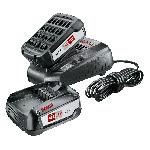 Akumulators un lādētājs Bosch 2x PBA 18 V 2.5 Ah + AL 1830 CV
