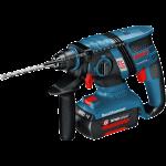 Akumulatora perforators Bosch GBH 36 V-EC Compact Professional 2 x 2.0 Ah, L-Boxx