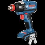 Akumulatora triecienskrūvgriezis/triecienatslēga Bosch GDX 18 V-EC Professional L-Boxx