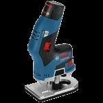 Akumulatora rokas frēze Bosch GKF 12V-8 Professional 2 x 3.0 Ah, L-Boxx