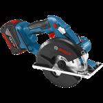 Akumulatora ripzāģis Bosch GKM 18 V-LI Professional 2 x 4.0 Ah, L-Boxx