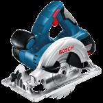 Akumulatora ripzāģis Bosch GKS 18 V-LI Professional 2 x 4.0 Ah, L-Boxx