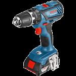 Akumulatora triecienurbjmašīna-skrūvgriezis Bosch GSB 18-2-LI Plus Professional 2 x 2.0 Ah, L-Boxx