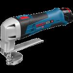 Akumulatora skārda šķēres Bosch GSC 12V-13 Professional 2 x 2.0 Ah, L-Boxx