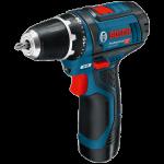 Akumulatora urbjmašīna-skrūvgriezis Bosch GSR 12V-15 Professional 2 x 2.0 Ah, L-Boxx