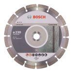 Dimanta ripa Bosch Standard for Concrete, BPE 230x22.23 mm