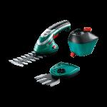 Akumulatora zāles šķēres Bosch Isio 3 Komplekts 060083310G