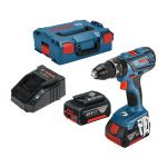Akumulatora triecienurbjmašīna-skrūvgriezis Bosch GSB 18V-28 Professional 2 x 3.0 Ah, GAL1820 CV, L-Boxx
