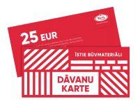 Dāvanu karte BN Kurši 25 EUR