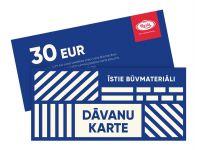 Dāvanu karte BN Kurši 30 EUR
