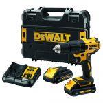 Akumulatora urbjmašīna-skrūvgriezis DeWalt DCD777L2T-QW 18 V, 2 x 3 Ah