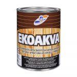 Ūdenī šķīstoša akrila laka RILAK EKOAKVA Spīdīga EC-bāze 0.9L