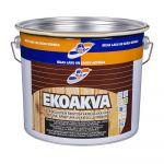 Ūdenī šķīstoša akrila laka RILAK EKOAKVA Pusspīdīga EC-bāze 2.7L