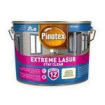 Pašattīrošā lazūra Pinotex Extreme Lasur 10 L balta