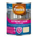 Pašattīrošā lazūra Pinotex Extreme Lasur 1 L balta