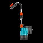 Lietus ūdens tvertnes akumulatora sūkņa komplekts Gardena 2000/2 Li-18