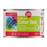 Krāsas toņa paraugs Green Line Color Test Pilnīgi matēta A-Bāze 0.45L