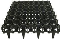 Zālāja režģis 49,2x49,2x3,9cm, melns