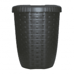 Atkritumu grozs Rattan 8L, Brūns