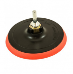 Gumijas disks ar pārklājumu D125 mm, ar vītņi M14