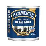 Metāla aizsargkrāsa Hammerite Smooth 0.25 L sudraba