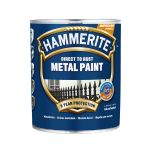 Metāla aizsargkrāsa Hammerite Smooth 2.5 L balta