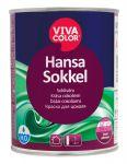 Ūdens bāzes krāsa cokoliem Vivacolor Hansa Sokkel Matēta A-bāze 0.9L